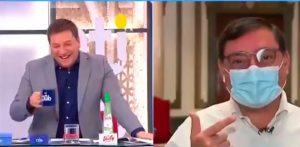 """VIDEO  """"Le vamos a dar un minuto para que se retracte"""": Julio César Rodríguez emplaza entre risas al intendente Guevara"""