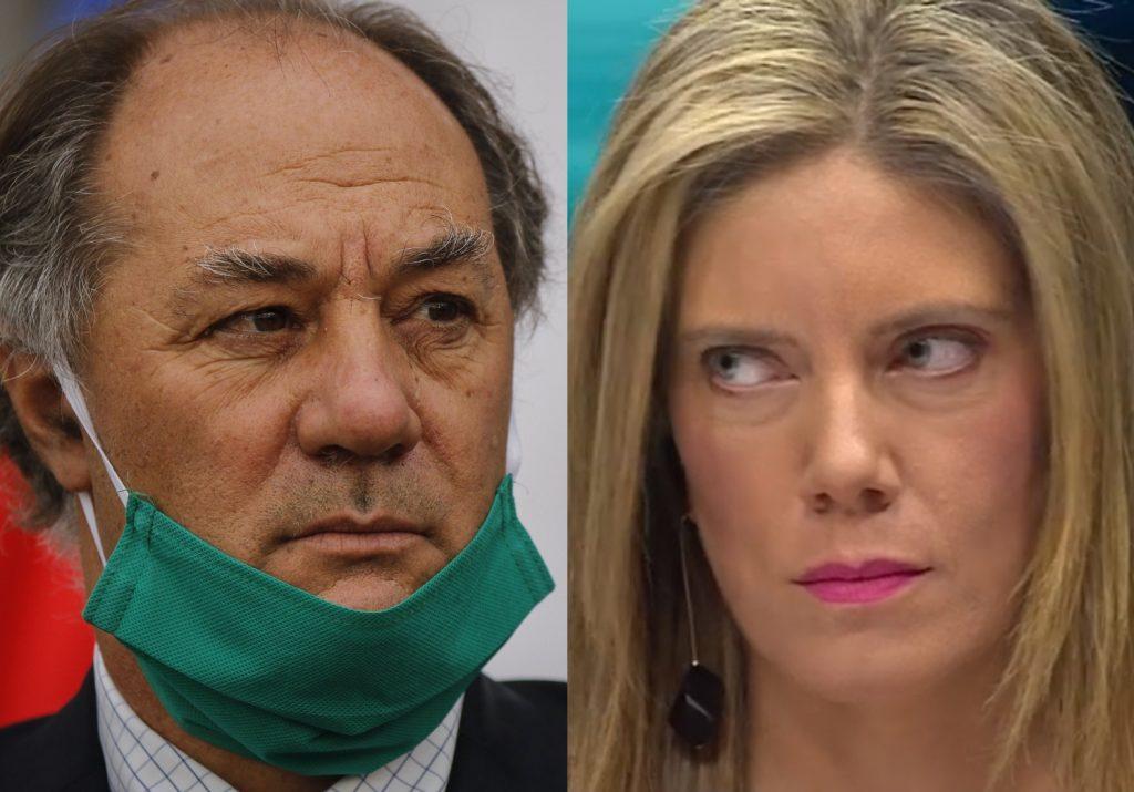 """VIDEO  Mónica Rincón responde a Juan Sutil tras culpar a la gente de morir por COVID-19: """"No sólo es cruel, sino que no es verdad"""""""