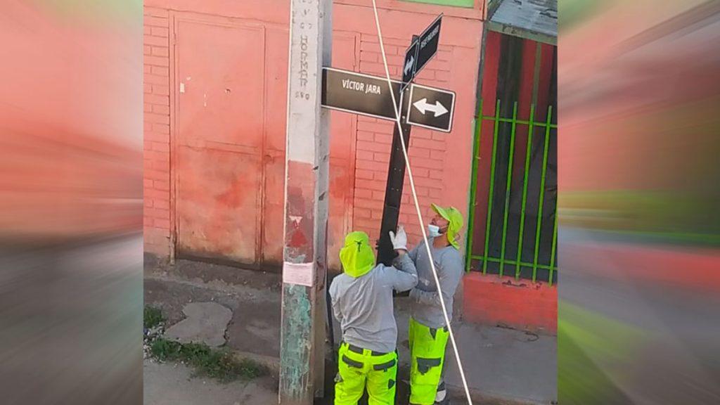 De Jaime Guzmán a Víctor Jara: Pudahuel Sur hace efectivo el cambio de nombre de una de sus calles