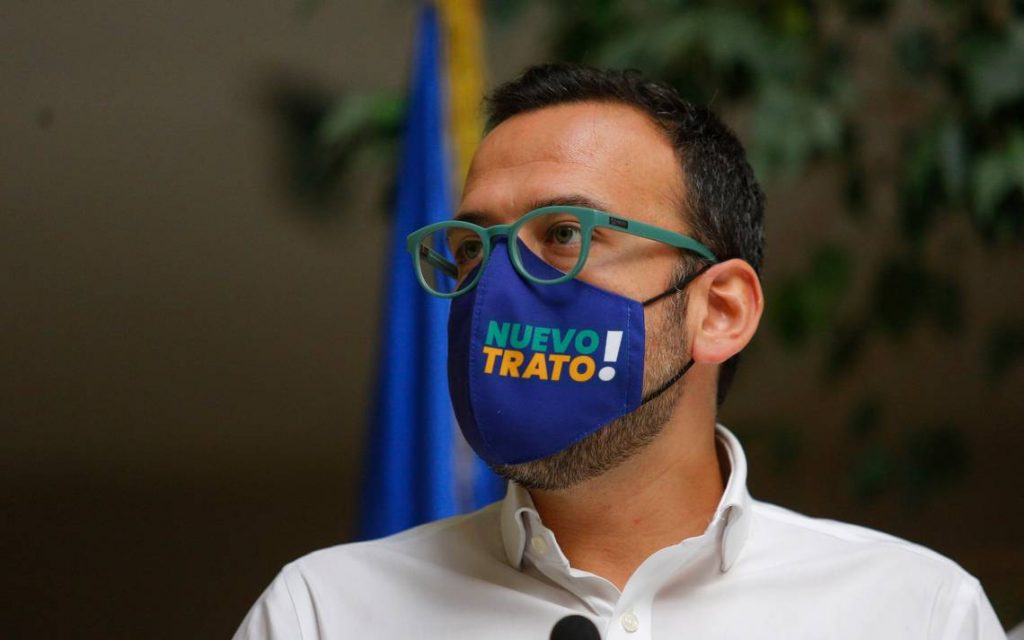 Pablo Vidal oficia a Piñera a que nombre delegado presidencial para enfrentar la crisis de salud mental
