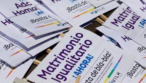 Comisión de Constitución posterga votación del matrimonio igualitario
