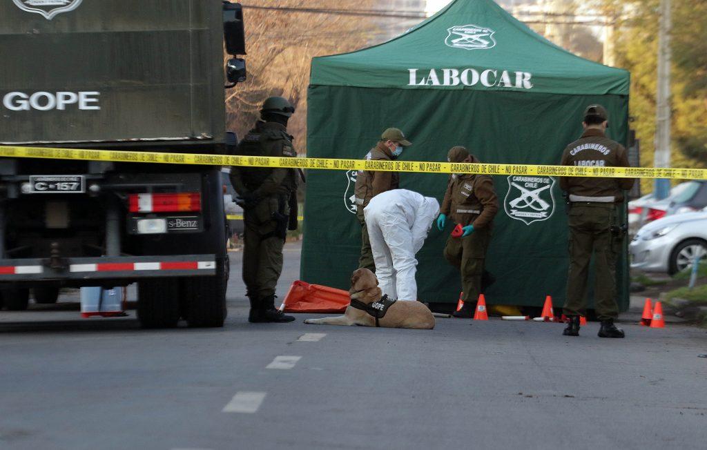 Labocar encontró TNT en casa de hijo de ex intendente de La Araucanía detenido en allanamiento