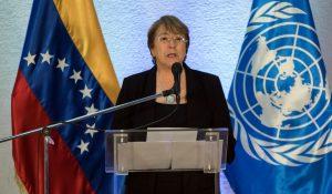 Michelle Bachelet pide a los países que levanten sanciones sectoriales contra Venezuela
