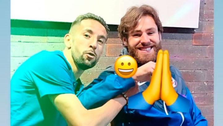 VIDEO| Ben Brereton aprende el primer chilenismo gracias a Mauricio Isla y saca risas en redes