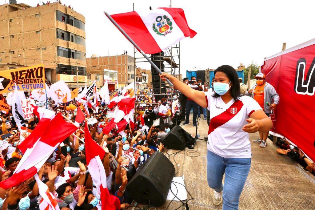Keiko Fujimori pide anular 200 mil votos de las elecciones en Perú