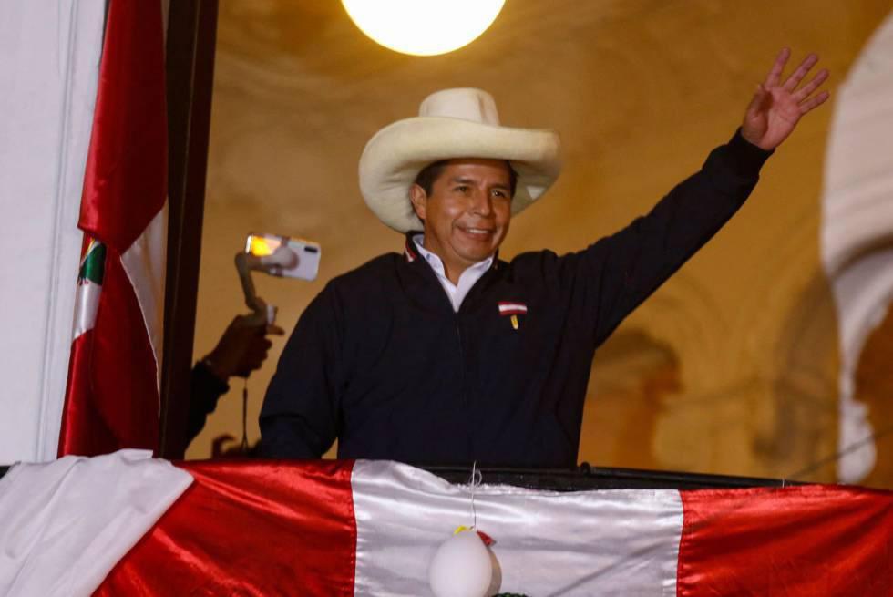 Perú: Pedro Castillo es proclamado oficialmente ganador de las elecciones presidenciales