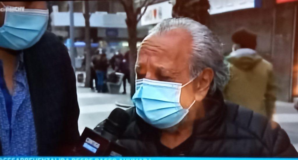 VIDEO| Dramático llamado de ayuda de adulto mayor en CHV: No quiere dinero, sino que lo visiten porque se siente solo