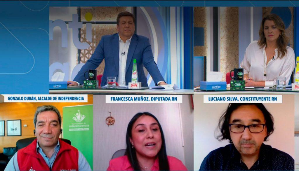 """VIDEO  El tenso debate de Julio César Rodríguez con constituyente RN Luciano Silva por educación sexual: """"Hablas cuestiones sin sentido"""""""