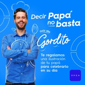 Ilustraciones gratuitas para el día del padre: La iniciativa de Open Plaza