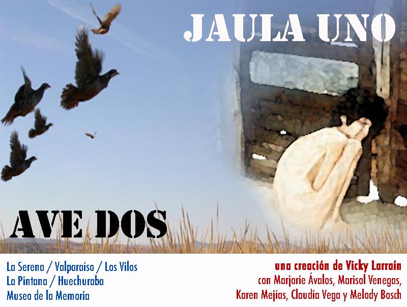"""""""Jaula uno ave dos"""": La obra sobre la emancipación femenina anuncia gira por seis comunas con una versión actualizada al 2021"""