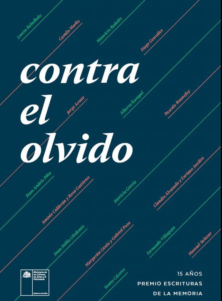 De Pascale Bonnefoy a Jorge Arrate: Presentan libro con galardonados en Escrituras de la Memoria