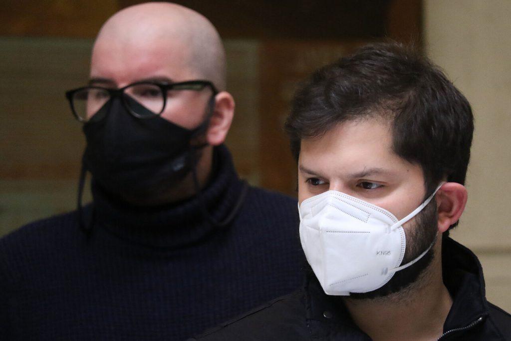 Gabriel Boric es agredido e insultado tras intentar visitar a un preso del estallido en Santiago 1