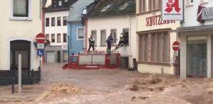 Ascienden a 37 las muertes por las inundaciones en Bélgica