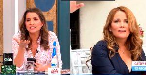 """VIDEO  """"Cuando fue alcaldesa privilegió las RR.SS."""": El cruce entre Monserrat Álvarez y Cathy Barriga en TV"""