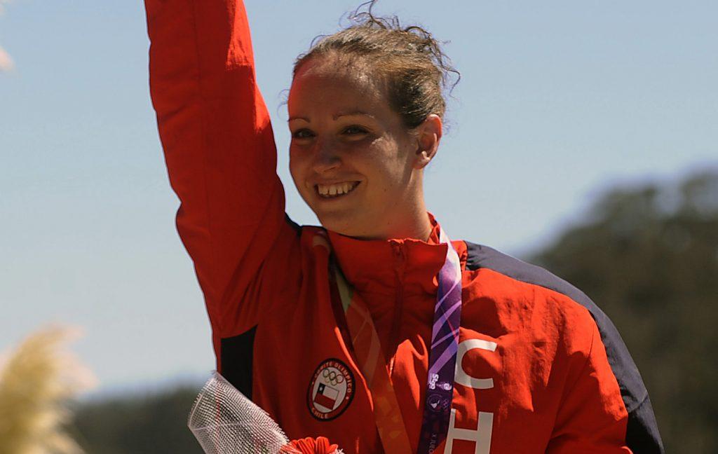 Kristel Köbrich corona una buena actuación en los 1.500 metros libres de los JJ.OO. de Tokio