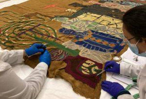 MAC y Museo Violeta Parra se unen para restaurar y conservar obras de la artista nacional