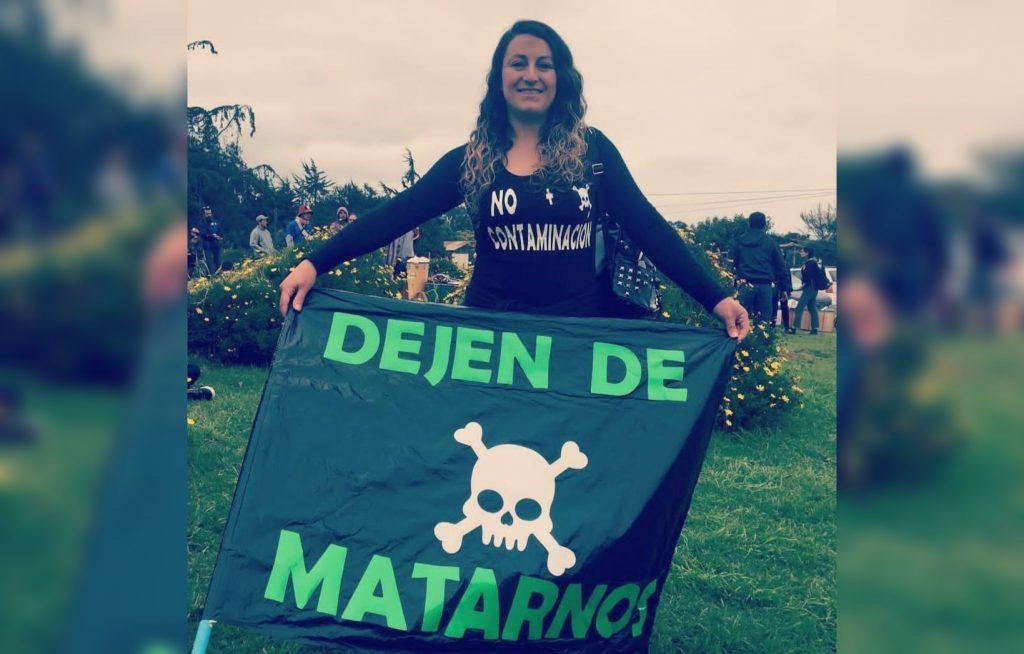 Otra defensora medioambiental amenazada de muerte:Las llamadas misóginas en contra de Marcela Nieto