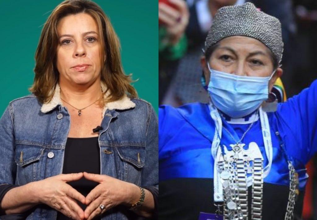 """VIDEO  Marinovic emplaza a Elisa Loncon, trata de """"dictadora"""" a Francisca Linconao y debe ser calmada por Jaime Bassa"""