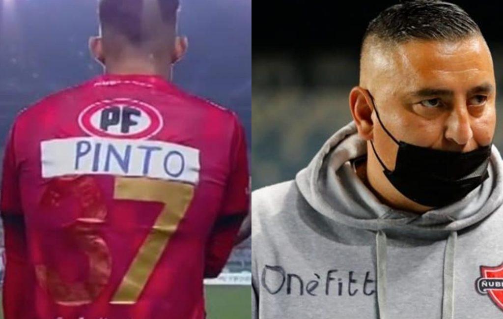 Jugador y técnico de Ñublense deben improvisar insólitamente sus uniformes: Empresa anuncia acciones legales