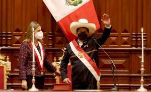 Pedro Castillo juró ante el Congreso y asumió la presidencia de Perú