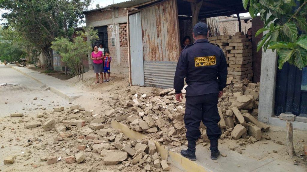 Continúan las réplicas en norte de Perú, que ya suma más de 700 heridos tras sismo