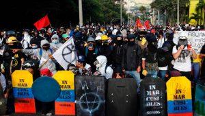 Colombia anuncia 134 detenciones relacionadas con el movimiento 'Primera línea'