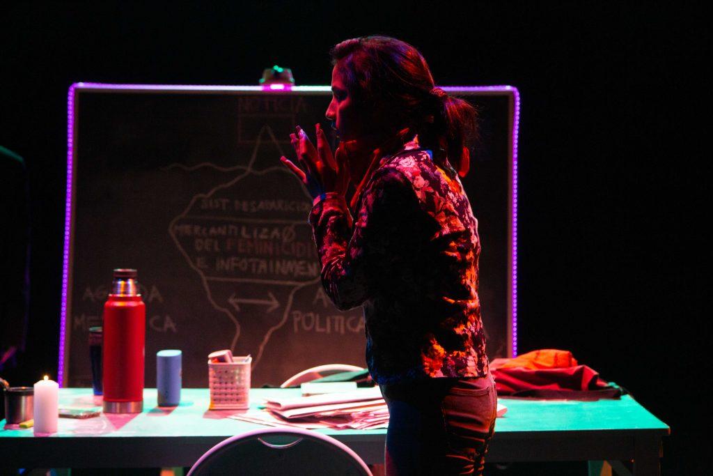 Nuevo estreno de Matucana 100 aborda los feminicidios bajo la dirección de Andrea Giadach