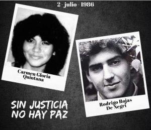 ADELANTO| La última noche de Rodrigo Rojas De Negri en la población Los Nogales