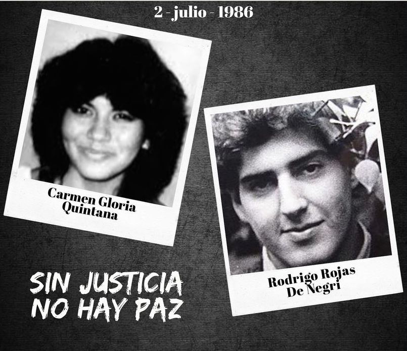 ADELANTO  La última noche de Rodrigo Rojas De Negri en la población Los Nogales