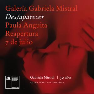 Galería Gabriela Mistral reabre con exposición de Paula Anguita