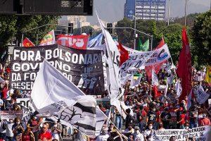 Movilizaciones en contra del Gobierno de Bolsonaro aumentan por su gestión durante la pandemia
