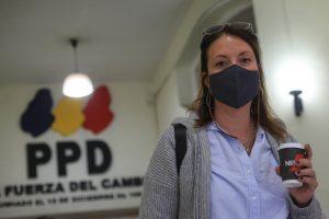 Natalia Piergentili, presidenta del PPD, descarta respaldo a candidatura senatorial de Rodrigo Peñailillo