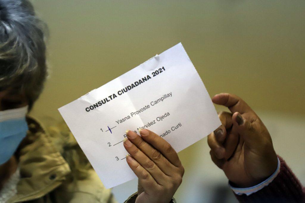 Consulta Ciudadana expone baja participación en Unidad Constituyente: Menos votos que el número de militantes