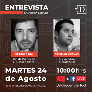 Cristián Cuevas proyecta su futuro político tras su salida de la carrera presidencial