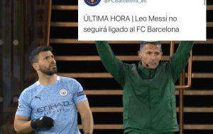 HUMOR  Del shock a las risas: Los memes que dejó la partida de Lionel Messi desde el Barcelona