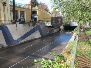 Autor del mural paso bajo nivel Santa Lucía postula al Premio Nacional de Artes Plásticas