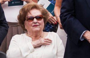 PERFIL  Perlas, pelo dorado y labial rojizo: Lucía Hiriart en la última etapa