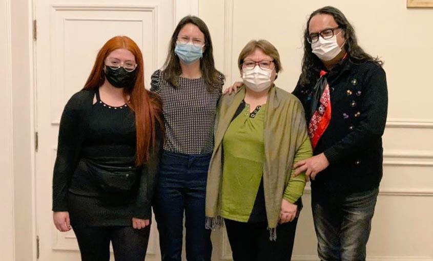 Fundación Margen se reúne con alcaldesa Irací Hassler para hablar sobre protección de derechos para trabajadoras sexuales