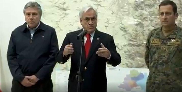 """El interrogatorio completo a Piñera por el 18-O: Estamos en guerra """"es una frase retórica, no literal, que ocupo con mucha frecuencia"""""""