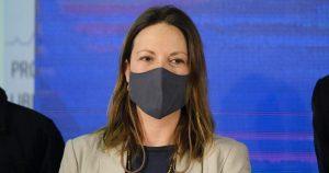 """Natalia Piergentili, presidenta del PPD: """"Mi forma de ir al choque las primeras semanas se vio muy dura"""" al interior del partido"""