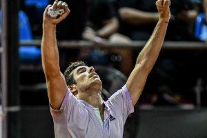 ¡Punto para Chile! Cristián Garín se impone en Bratislava y serie de Copa Davis queda 1-0