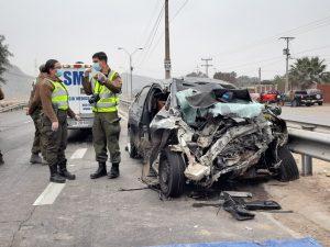 Conducir con alcohol como causa: Saldo de Fiestas Patrias con 520 accidentes y 16 muertos