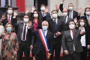 Piñera se toma la última foto oficial de Fiestas Patrias como Presidente de Chile