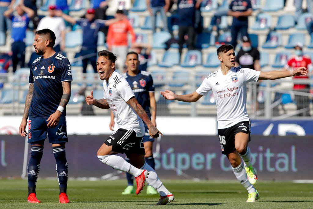 Superclásico: Colo Colo bate a la U en Rancagua y se consolida en el liderato