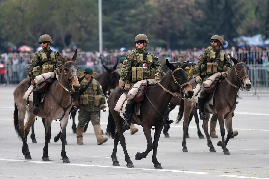 """Parada Militar: Alessandri habla de """"poderío"""" y oposición la califica de «absurda»"""