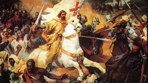 ¿El Apóstol Santiago o el Mapocho (mapuche)?