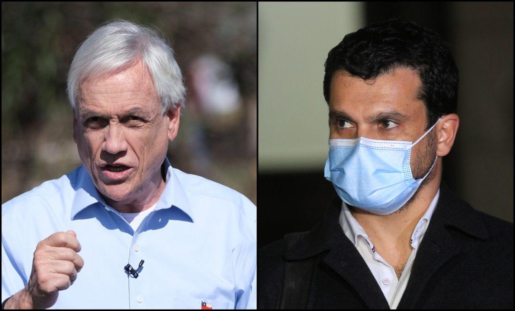 """""""No desinforme a la ciudadanía"""": Bassa se enfrenta a Piñera por crítica a la CC en Twitter"""