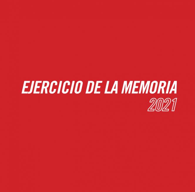 Conmemoración del Ejercicio de la Memoria 2021