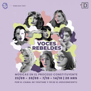 """El Desconcierto y Agencia Rebeldes estrenan la segunda temporada de """"Voces Rebeldes"""""""