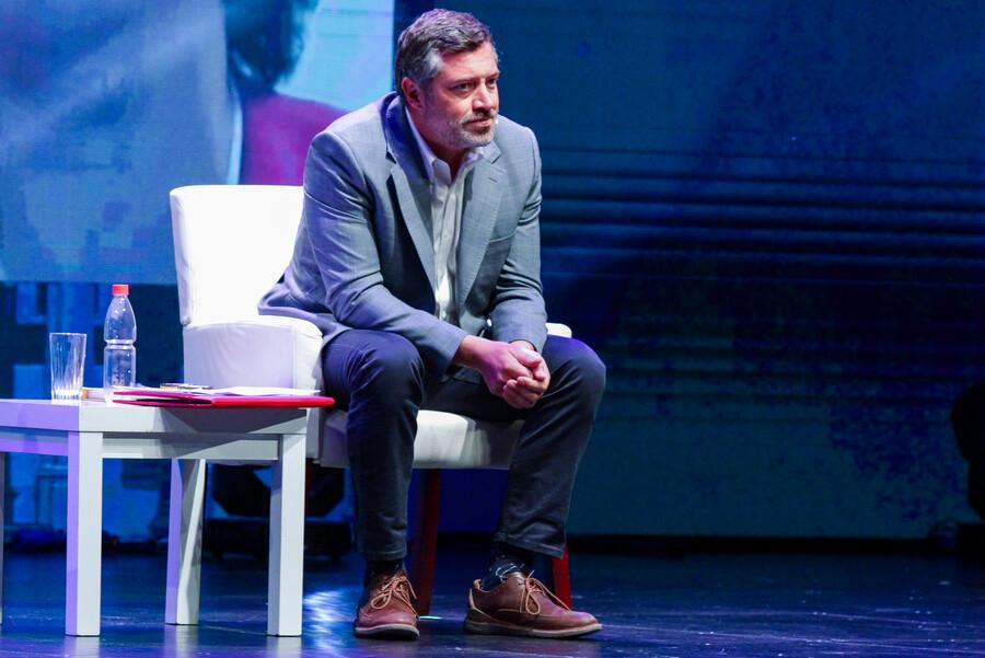 """Goic se desmarca de reportaje contra Sichel: """"No es militante DC, es candidato de derecha"""""""